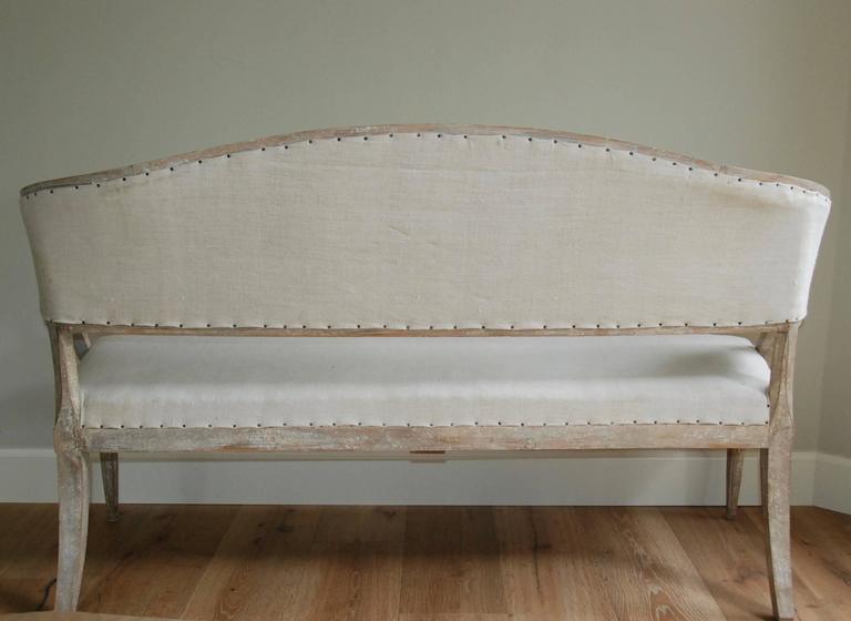 19th Century Swedish Barrel Back Sofa 10