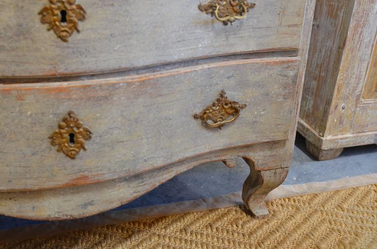 18th Century Swedish Rococo Commode For Sale 1