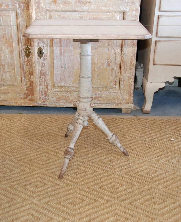 Pair of 19th Century Swedish Pedestal Tables For Sale 1