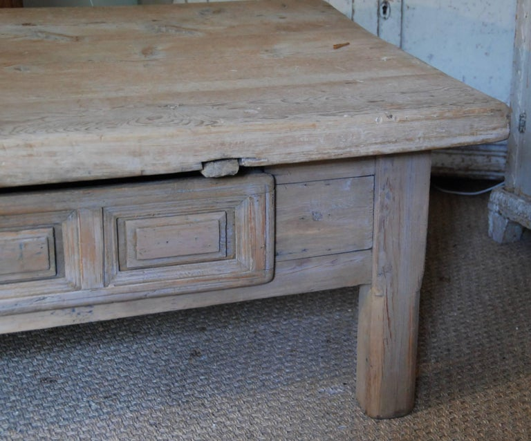 18th Century Swedish Coffee Table For Sale 2