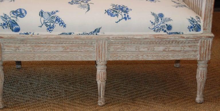 18th Century Period Swedish Gustavian Sofa For Sale 1