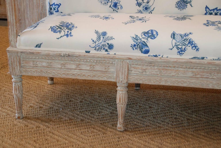 18th Century Period Swedish Gustavian Sofa For Sale 2