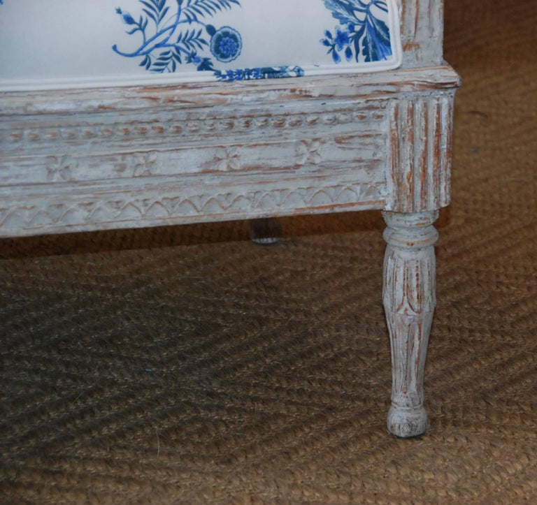 18th Century Period Swedish Gustavian Sofa For Sale 5