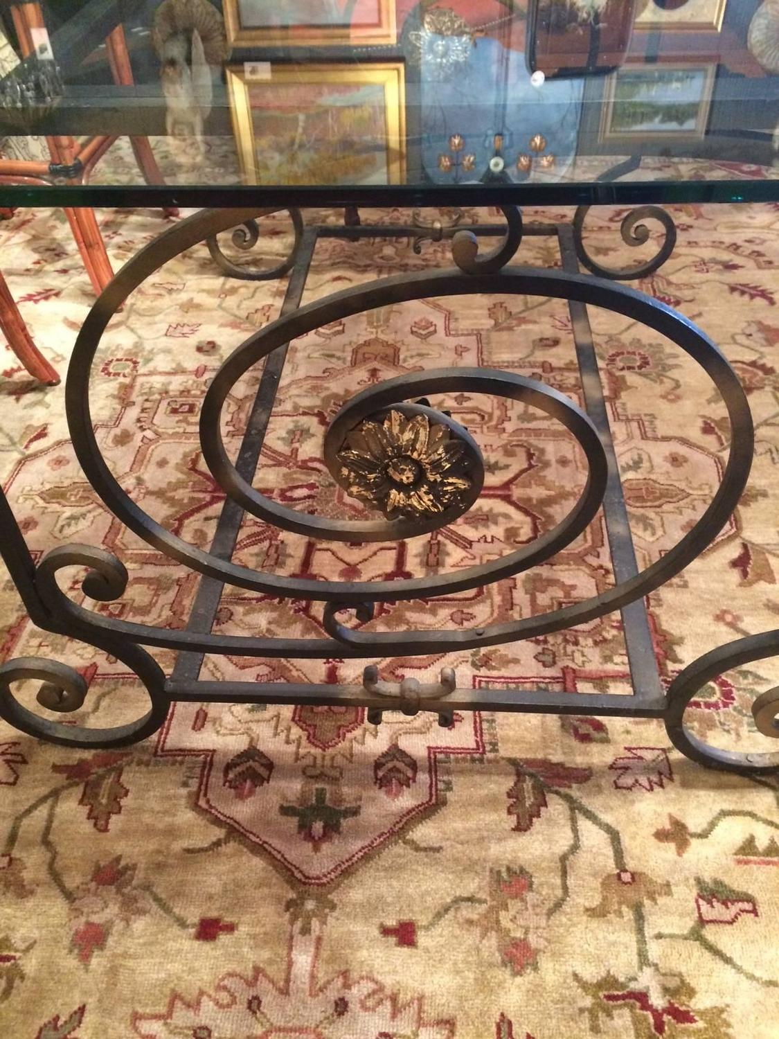 One of a Kind Vintage New Orleans Iron Dining Table For  : IMG1913z from www.1stdibs.com size 1125 x 1500 jpeg 260kB