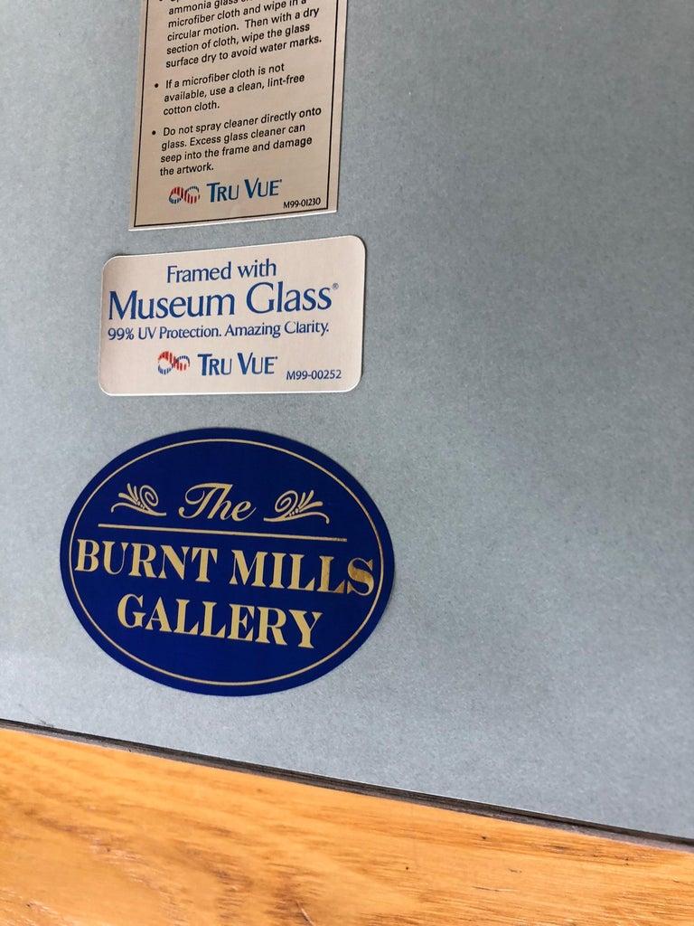 Pair of  Elegant Grand Tour Intaglios in Custom Frames For Sale 6