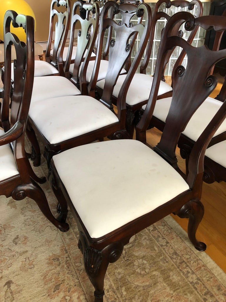 Set of 12 Classic Ralph Lauren for Henredon Dining Chairs For Sale 5