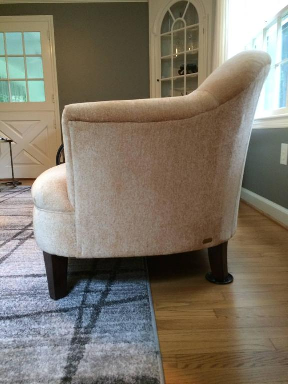 Ralph Lauren Plush Chenille Sofa For Sale At 1stdibs