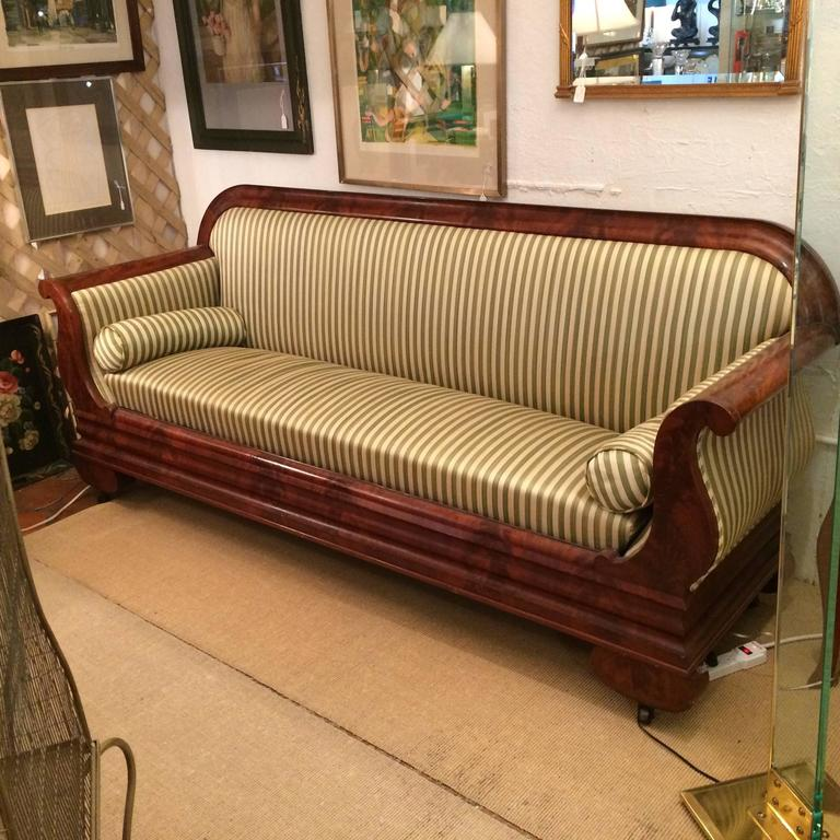 classic large elegant biedermeier sofa at 1stdibs. Black Bedroom Furniture Sets. Home Design Ideas