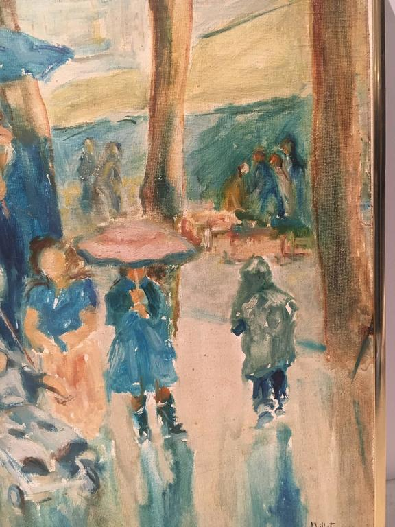 Charming Impressionist Painting of Women and Children in ... - photo#20