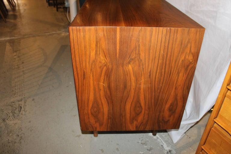 Mid-Century Modern Kipp Stewart Walnut Eight-Drawer Dresser For Sale
