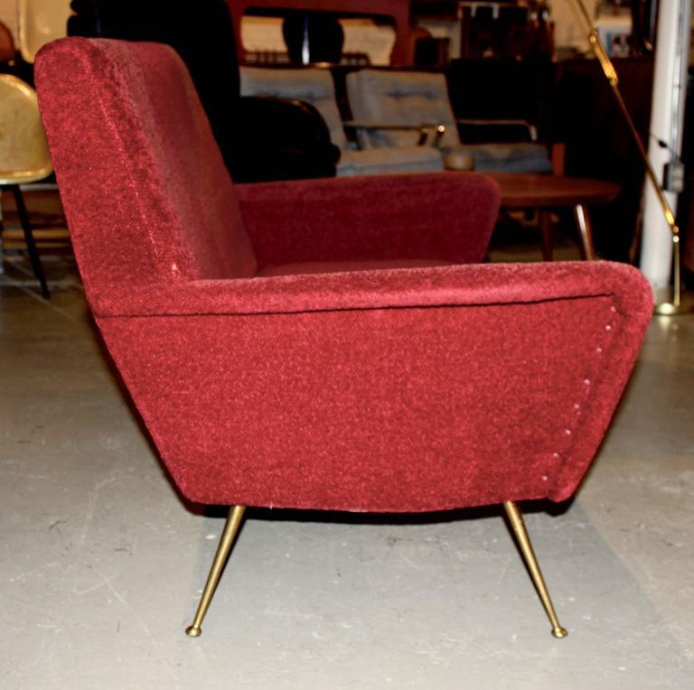 Italian Mid-Century Modern Settee Sofa 5