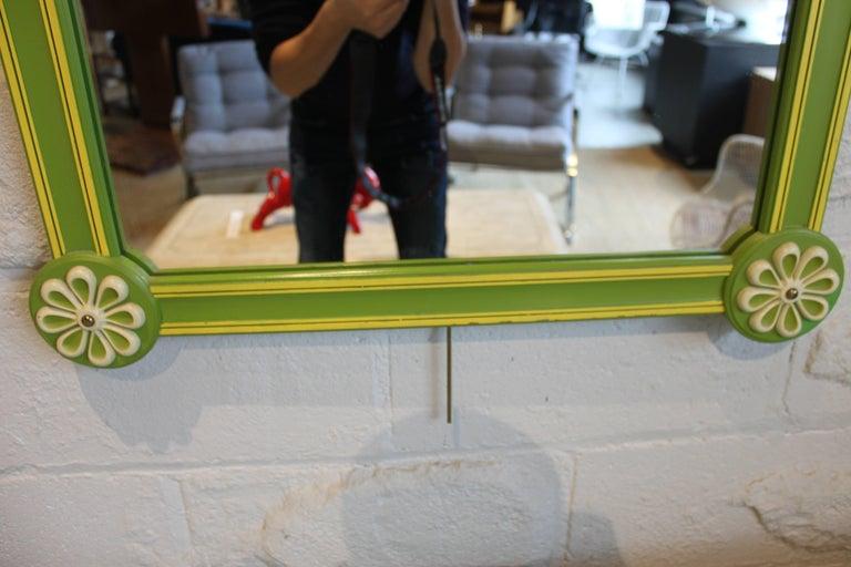 Pop Art Modern Vintage Drexel Mirror 2