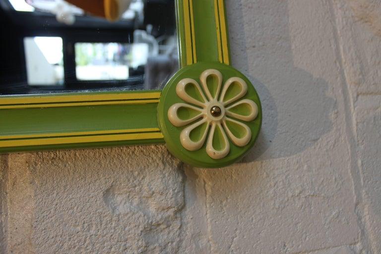 Pop Art Modern Vintage Drexel Mirror 3