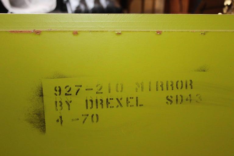 Pop Art Modern Vintage Drexel Mirror 6