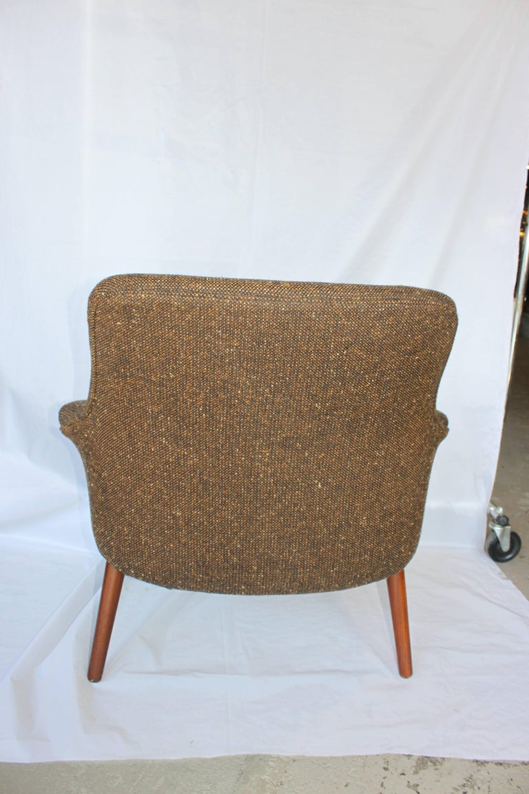 mid century modern danish lounge chair at 1stdibs