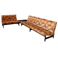 Mid-Century Modern Sofa Set