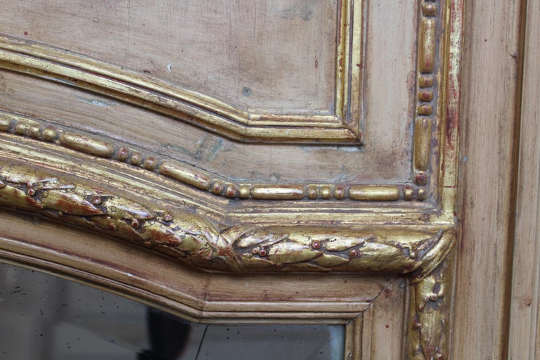 French 19th Century Trumeau Mirror For Sale 8