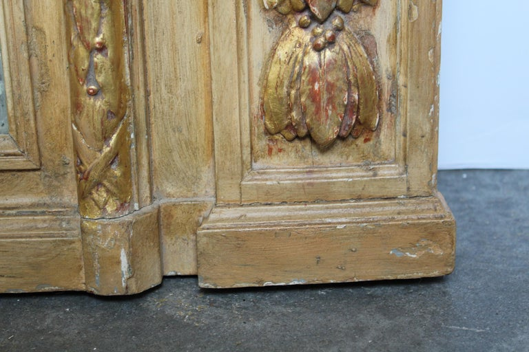 French 19th Century Trumeau Mirror For Sale 7