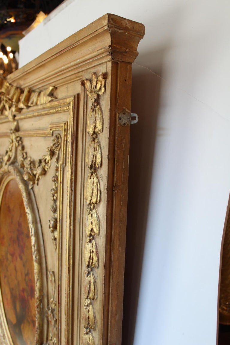 French 19th Century Trumeau Mirror For Sale 12