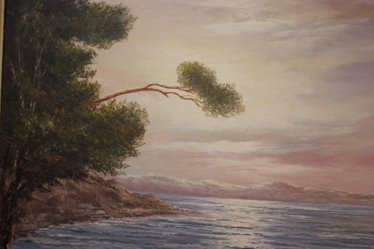 Hand-Painted Signed Oil Painting