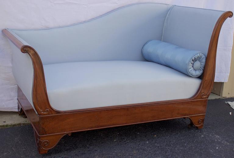 Empire French Early 19th Century Mahogany Daybed For Sale