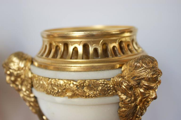 Pair of Early 19th Century French Incense Burners Louis XVI Style For Sale 2