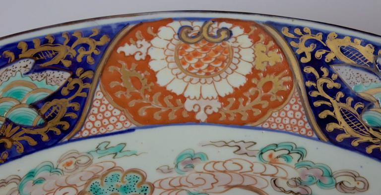 19th Century Large Imari Porcelain Charger 2