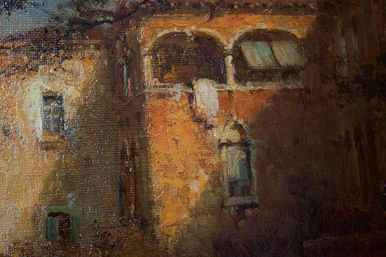 Gondoles on a Venice Canal by G.N. Bouvard 6
