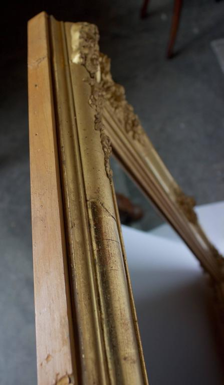 Early 19th Century French Giltwood Mirror For Sale 3