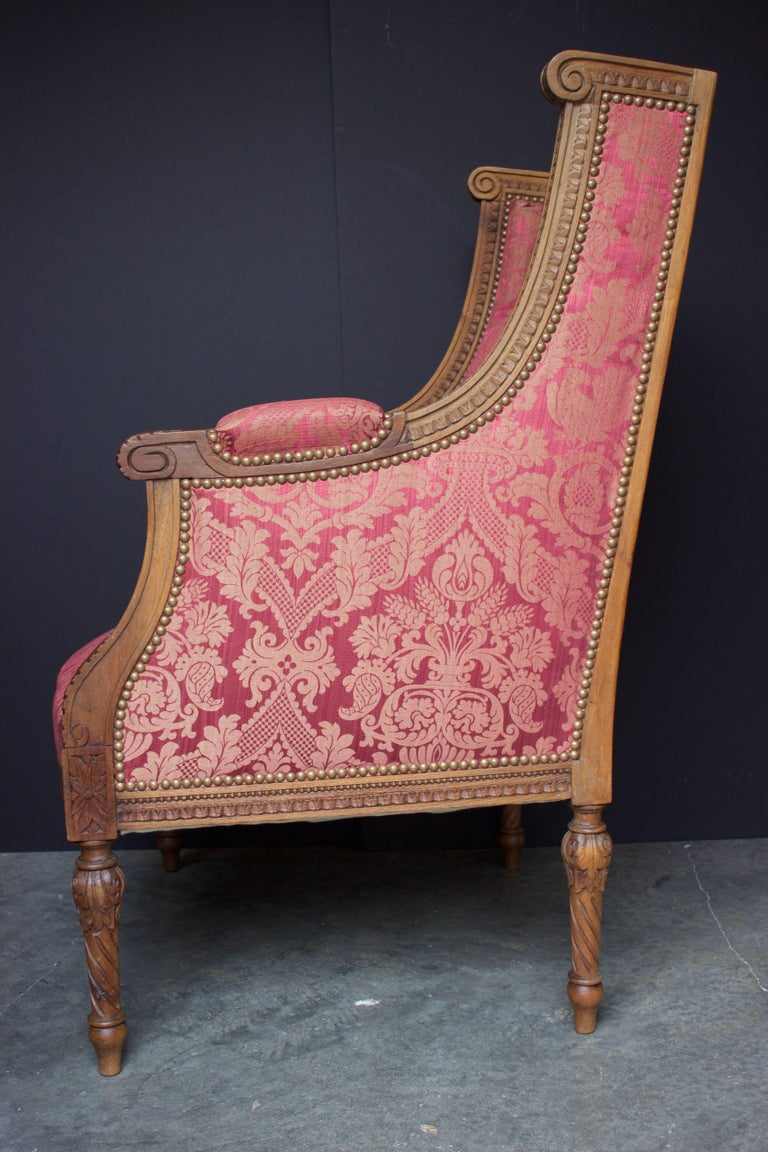"French 19th Century Louis XVI Bergere ""En Confessionnal"" 4"