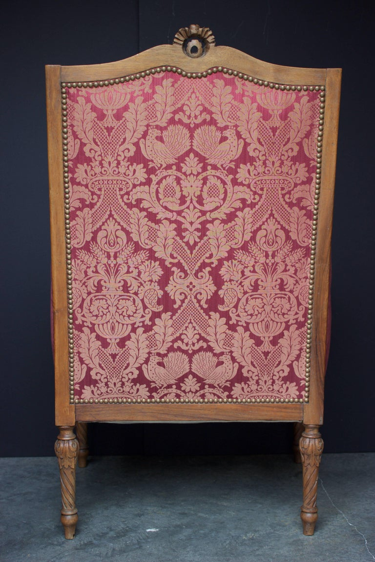 "French 19th Century Louis XVI Bergere ""En Confessionnal"" 5"