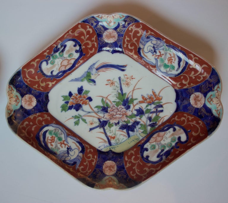 Other Pair of Imari Plates, 19th Century For Sale