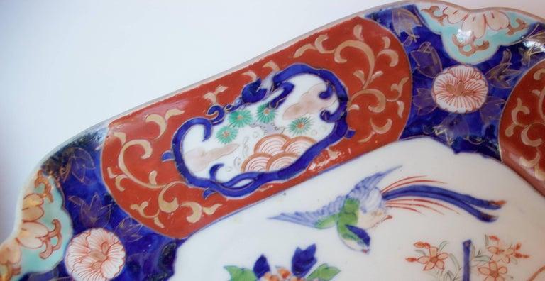 Japanese Pair of Imari Plates, 19th Century For Sale