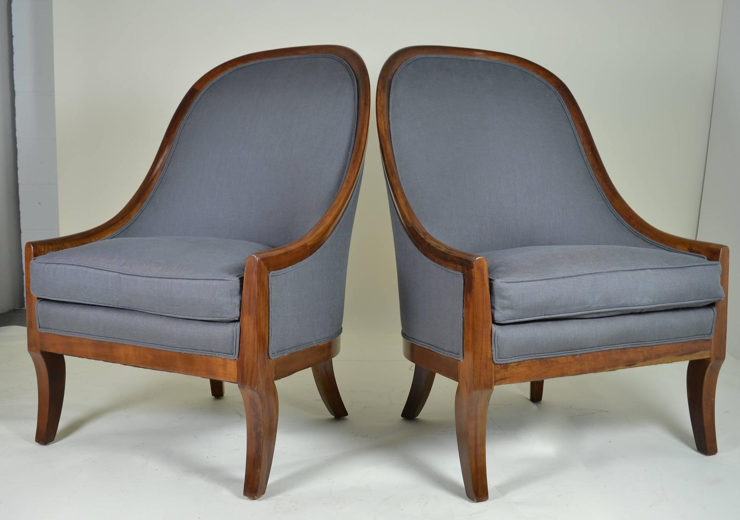 Spoon Back Chairs By Baker Furniture For Sale At 1stdibs