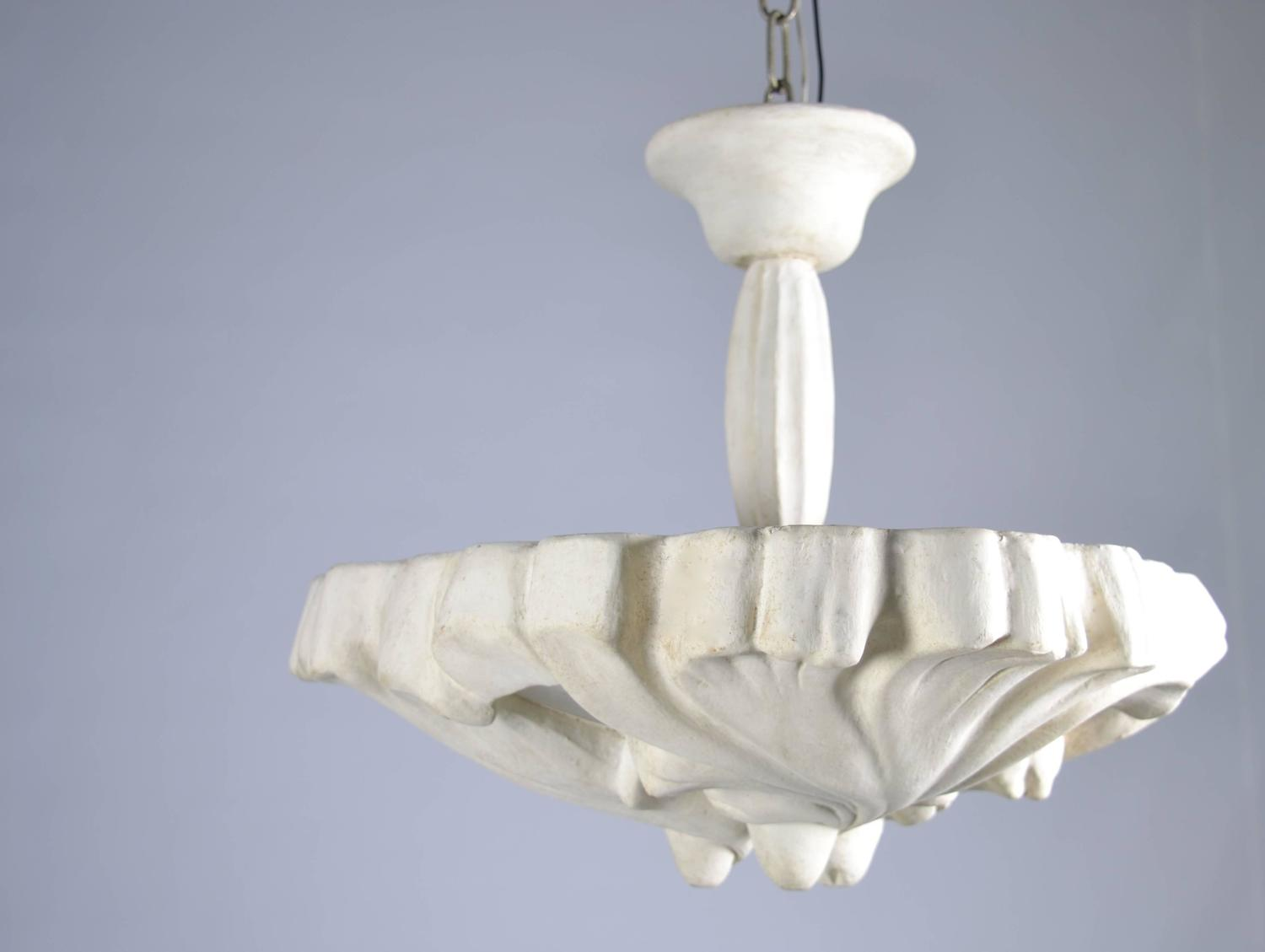 1920s plaster lighting fixture at 1stdibs