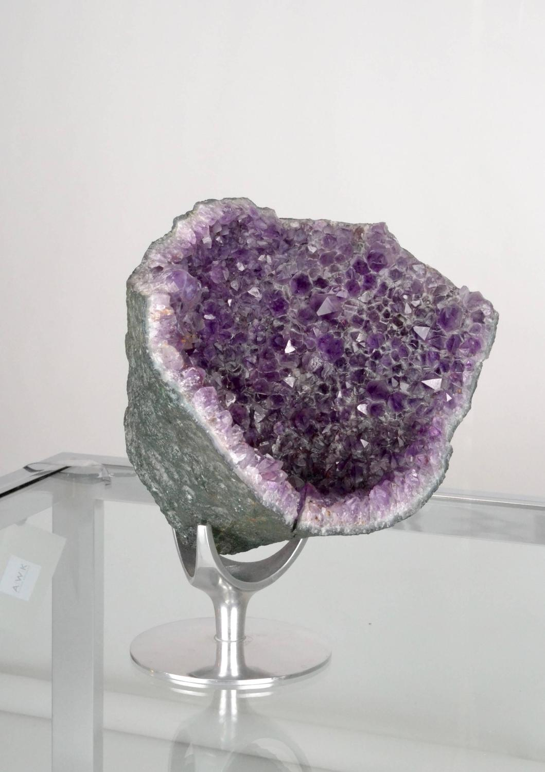 Large Amethyst Geode On Stand For Sale At 1stdibs