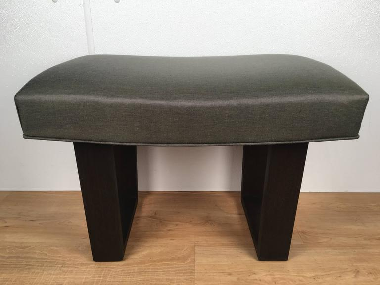 Robsjohns -Gibbings Style Ebonized Bench 2