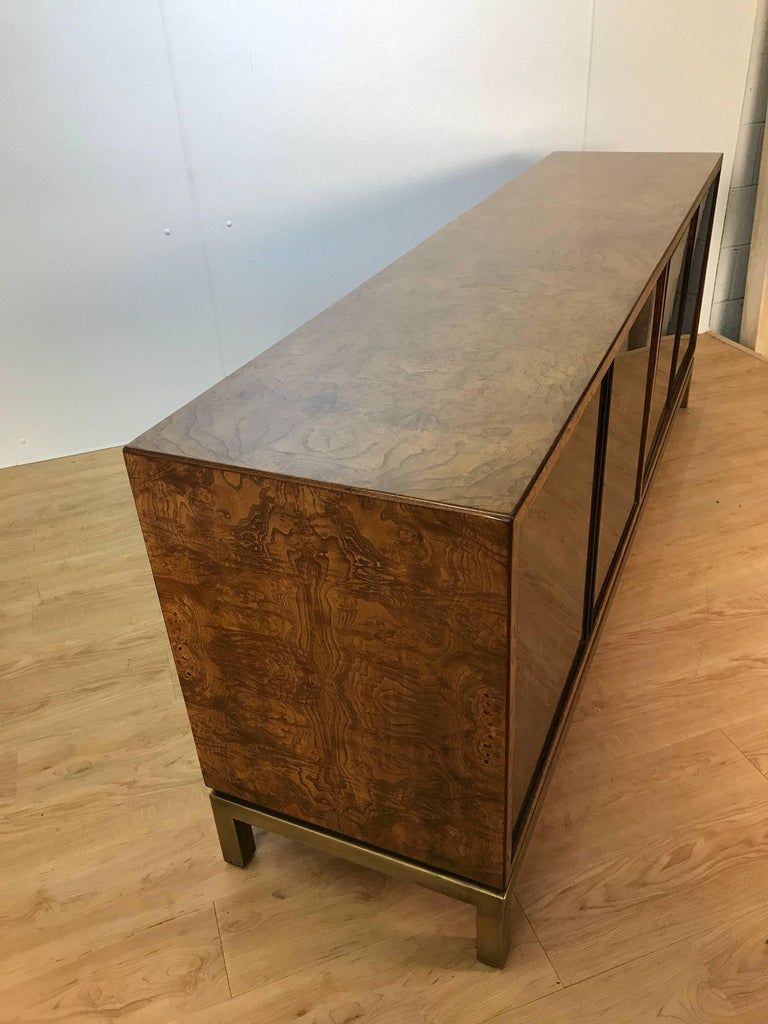 Acid Washed Bronze Sideboard by John Widdicomb In Good Condition For Sale In Oaks, PA