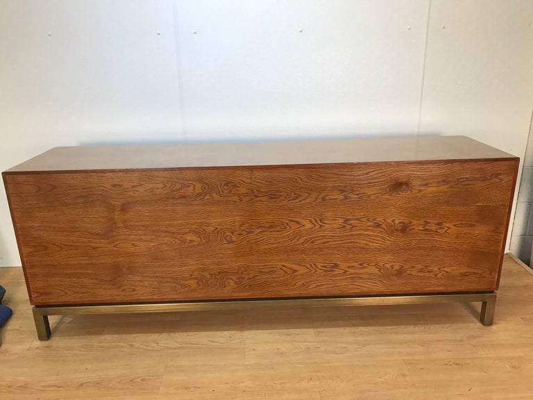 Late 20th Century Acid Washed Bronze Sideboard by John Widdicomb For Sale