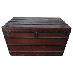 Large Early Louis Vuitton Trunk