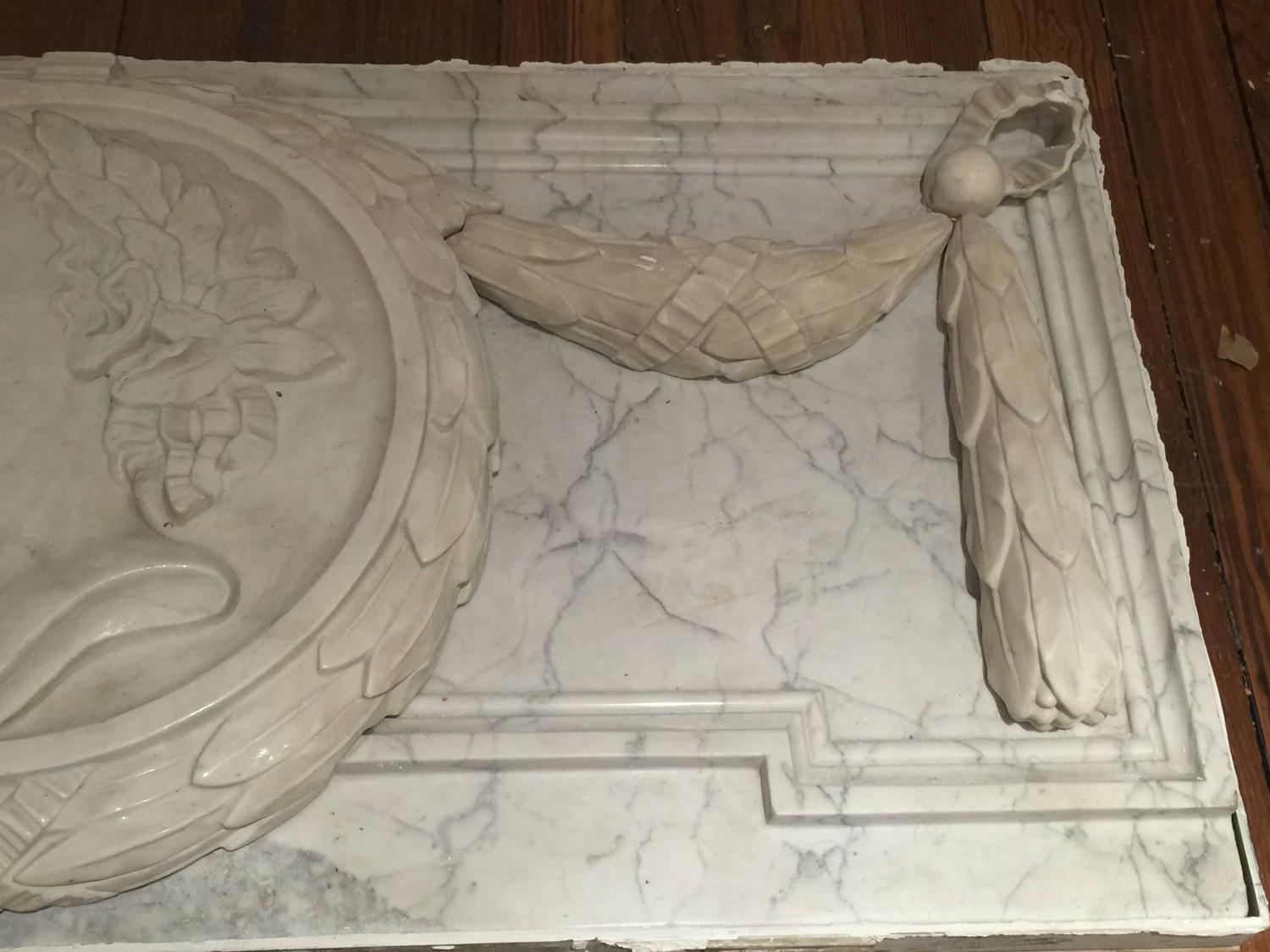 Large Grand Tour Marble Plaque For Sale At 1stdibs
