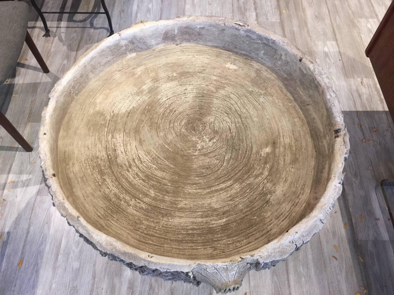 Antique faux bois center table for sale at 1stdibs for Faux bois painting technique