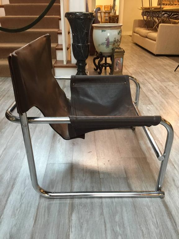 Pair Of Rodney Kinsman T1 Sling Chairs At 1stdibs