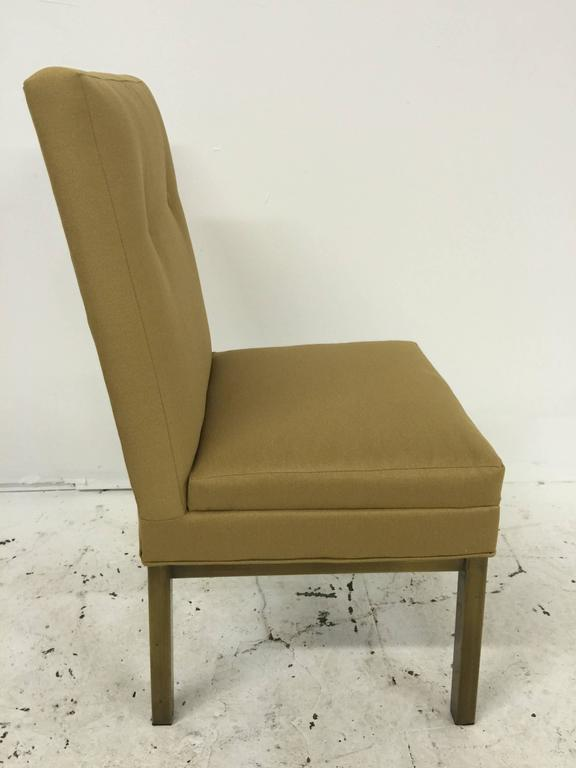 Mid-Century Modern Set of Four Stendig Dining Chairs For Sale