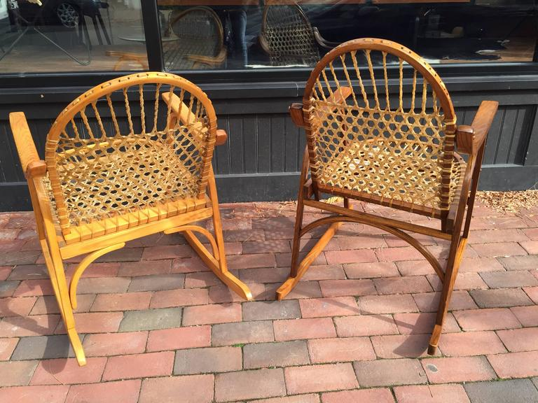 vermont tubbs adirondack rocking chair 2 - Adirondack Rocking Chair