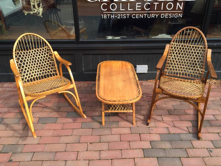 Vermont Tubbs Adirondack Rocking Chair At 1stdibs