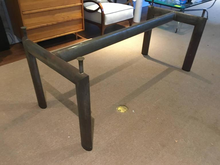table base attributed to le corbusier at 1stdibs. Black Bedroom Furniture Sets. Home Design Ideas