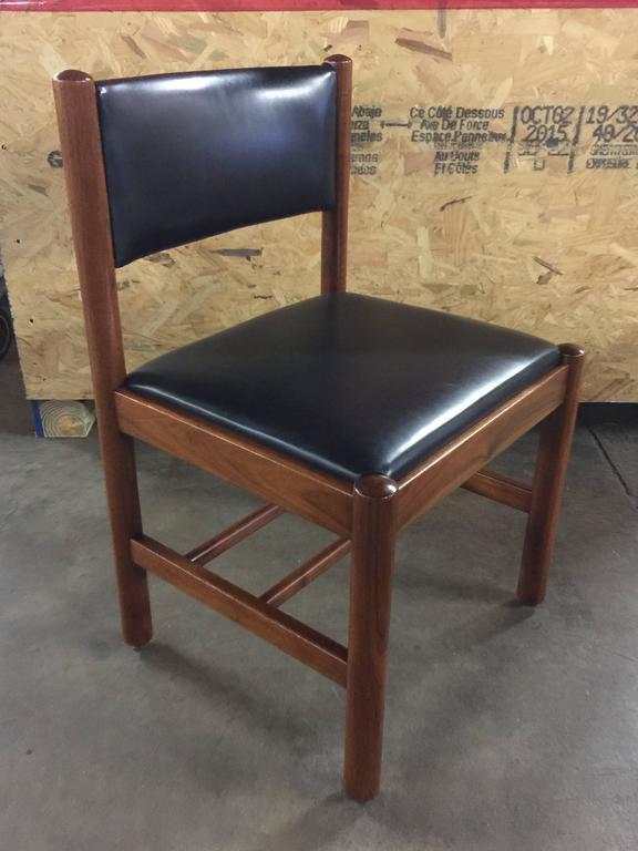 Mid-Century Modern 12 Danish Walnut Dining Chairs