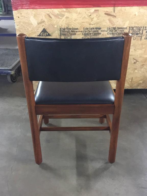 Late 20th Century 12 Danish Walnut Dining Chairs