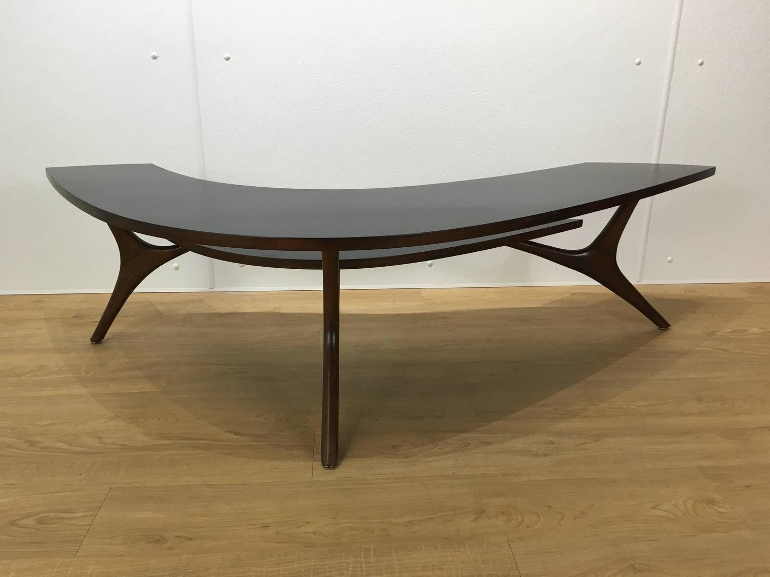 Two Tier Boomerang Coffee Table For Sale At 1stdibs
